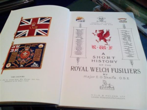 A_short_History_of_the_Royal_Welch_Fusiliers_Skaife