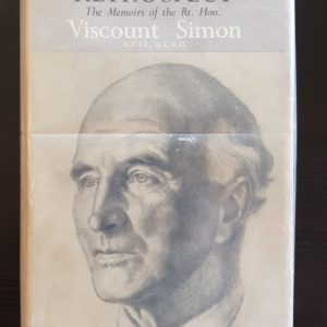 Retrospect_Memoirs_Viscount_Simon