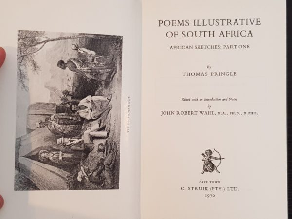 Poems_illustrative_of_South_Africa_African_Sketches_Thomas_Pringle_Numbered_limited_edition