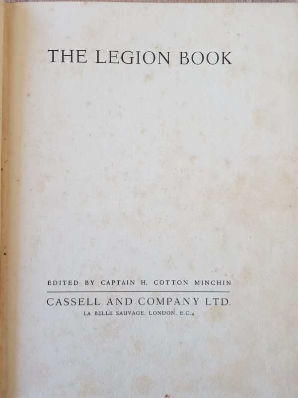 The_Legion_Book_Cotton_Minchin