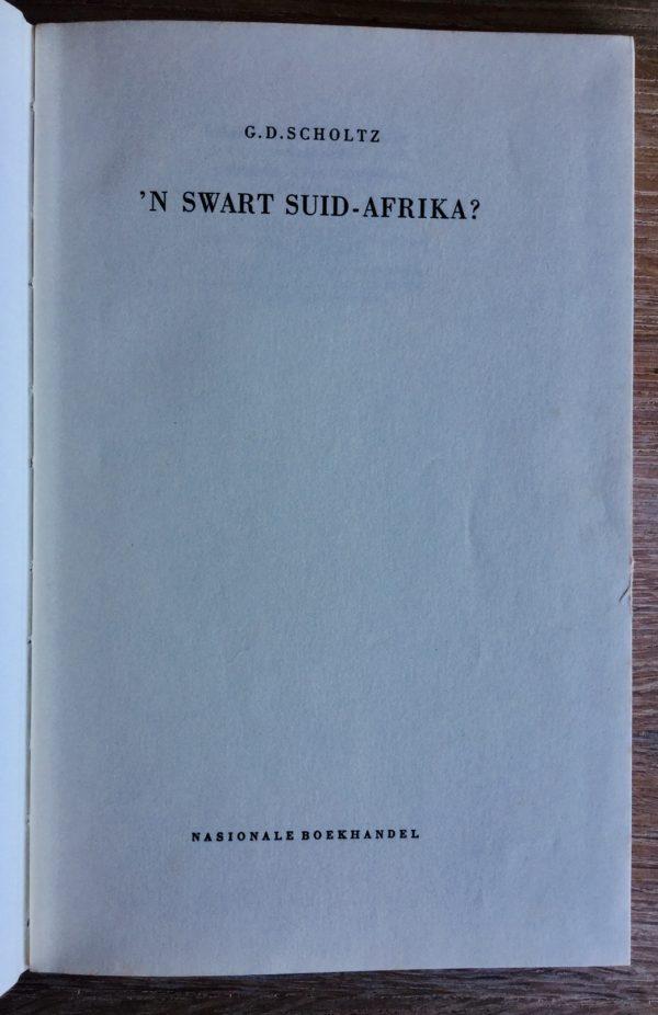 Swart_Suid-Afrika_Scholtz