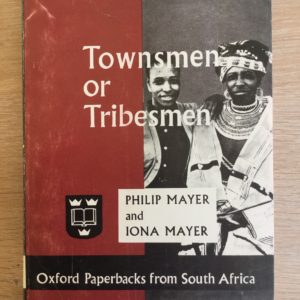 Townsmen_or_Tribesmen_Philip_Iona_Mayer